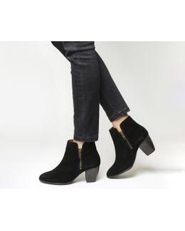Justine Double Zip Boots
