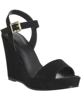 Mai Tai Two Part Wedge Sandals