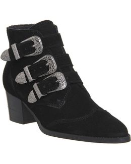 Jagger Multi Buckle Boots