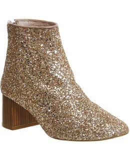 Jazz Hands Block Heel Boots