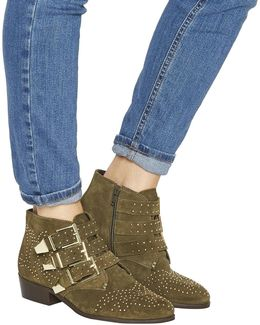 Lucky Charm Studded Boots