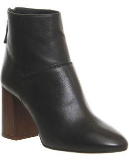Lavender Block Boots