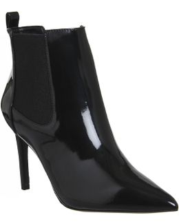 Ladies Night Pointed Boots