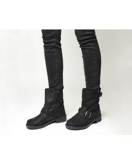 Lilo Buckle Biker Boots