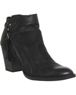 Jessie Mid Zip Boots