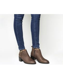 Algebra Side Zip Ankle Boot
