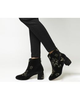 Arch Enemy Block Heel Boots