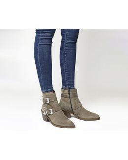 Alpha Studded Western Boots