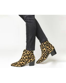 Aruba Pointed Block Heel Boots