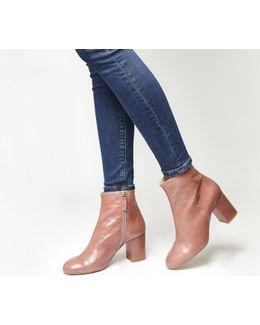 Applause Block Heel Boots