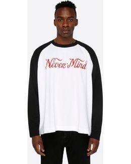 Black / White Desert Nevermind Longsleeve T-shirt