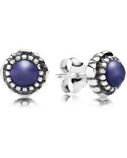 September Birthstone Stud Earrings