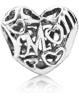 Motherly Love Openwork Charm