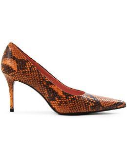 Pam Heel Python Orange