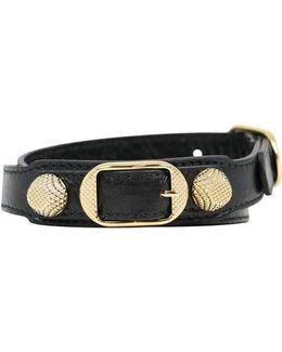 Wrap Arena Stud Bracelet Black/gold