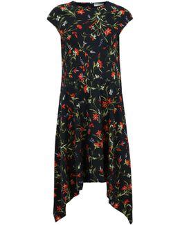 Egg Dress Poppy Print Black/multi