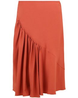 Maurine Drop Waist Skirt Raspberry Bellini