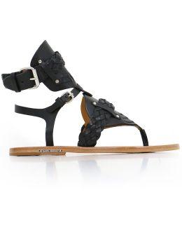 Jalys Gladiator Sandal Black