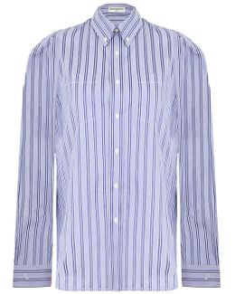 Multi-styling Stripe Shirt Blue/white