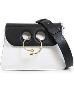 Pierce Medium Bag Black/white