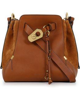 Owen Medium Bucket Bag Caramel/gold