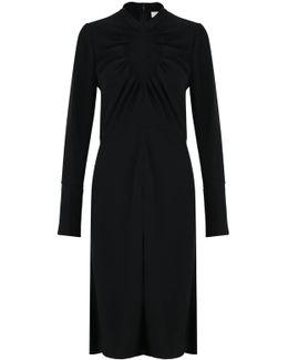 Open Circle Dress Black