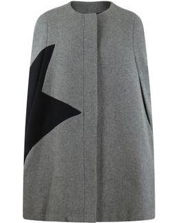 Contrast Star Cape Black/cape
