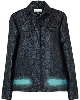 Brocade Shirt Jacket