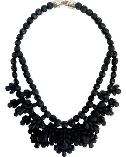 Silicone Double Layer Neckpiece Black