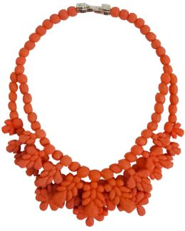 Silicone Double Layer Neckpiece Salmon