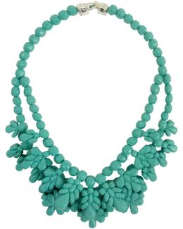 Silicone Double Layer Neckpiece Mint Green