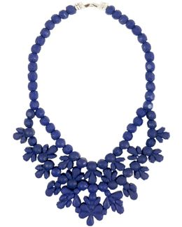 Silicone Single Layer Neckpiece Dark Blue