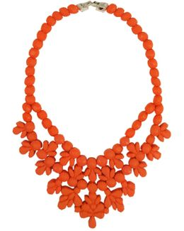 Silicone Single Layer Neckpiece Salmon