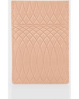 No.9 - Powder Pink Leather Credit Card Holder