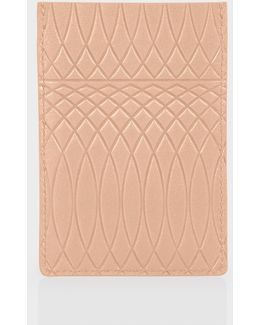 No.9 - Powder Pink Leather Credit Card Holder