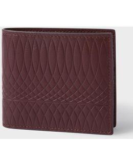 No.9 - Men's Damson Leather Billfold Wallet