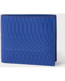No.9 - Men's Blue Leather Billfold Wallet