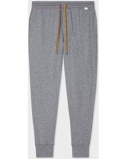 Men's Grey Jersey Cotton Lounge Pants