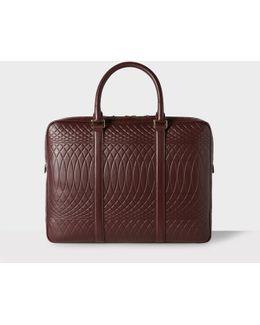 No.9 - Damson Leather Slim Business Folio