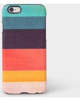 Artist Stripe Leather Iphone 6 Case