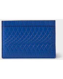 No.9 - Blue Leather Card Holder