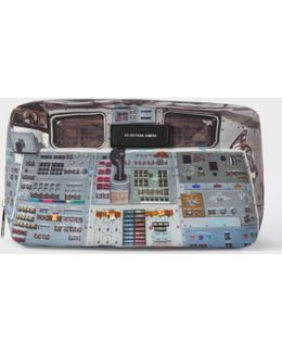 Men's 'space Shuttle' Print Wash Bag