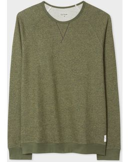 Men's Khaki Cotton Sweatshirt
