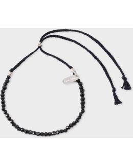Men's Black Chakra Bracelet