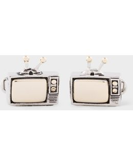 Men's 'television' Cufflinks