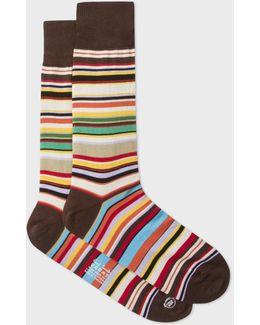 Men's Signature Stripe Socks