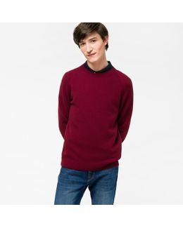 Men's Damson Merino Wool Sweater
