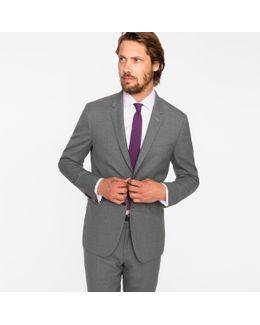 The Kensington - Men's Slim-fit Grey Wool 'suit To Travel In'