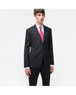The Kensington - Men's Slim-fit Black Wool 'suit To Travel In'