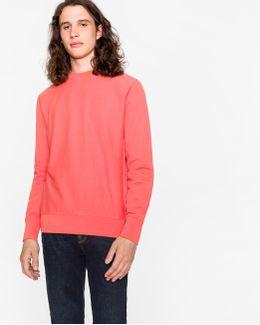 Men's Coral Organic-cotton Sweatshirt